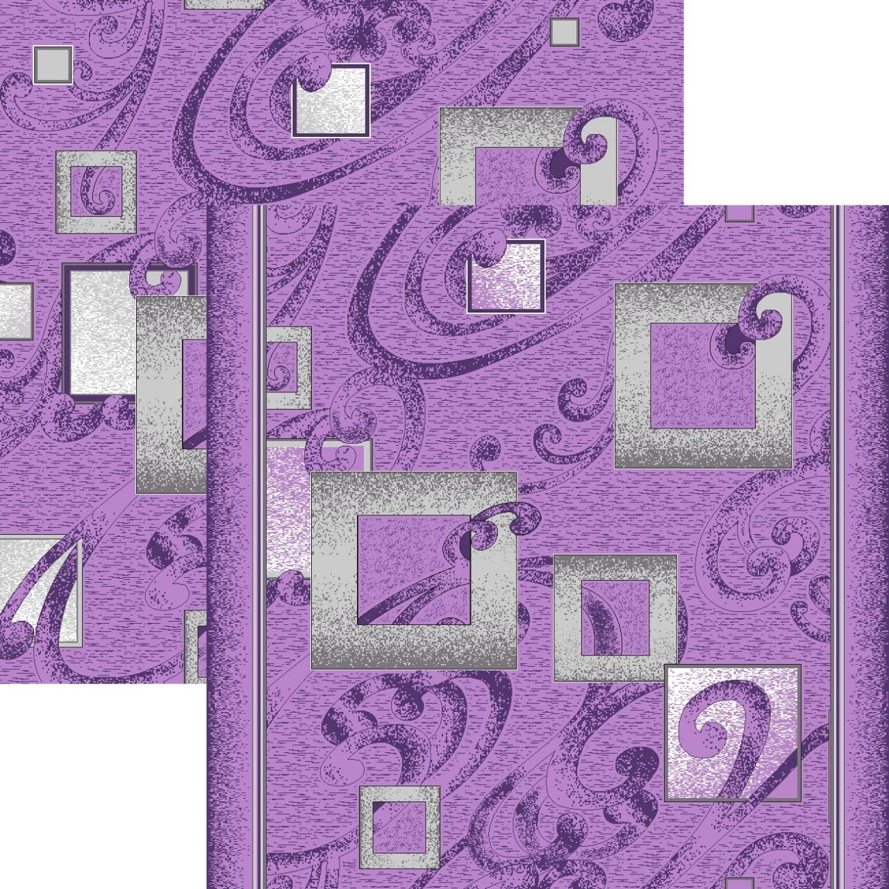 Ковровая дорожка p1023m5r - 50 - коллекция принт 8-ми цветная дорожка