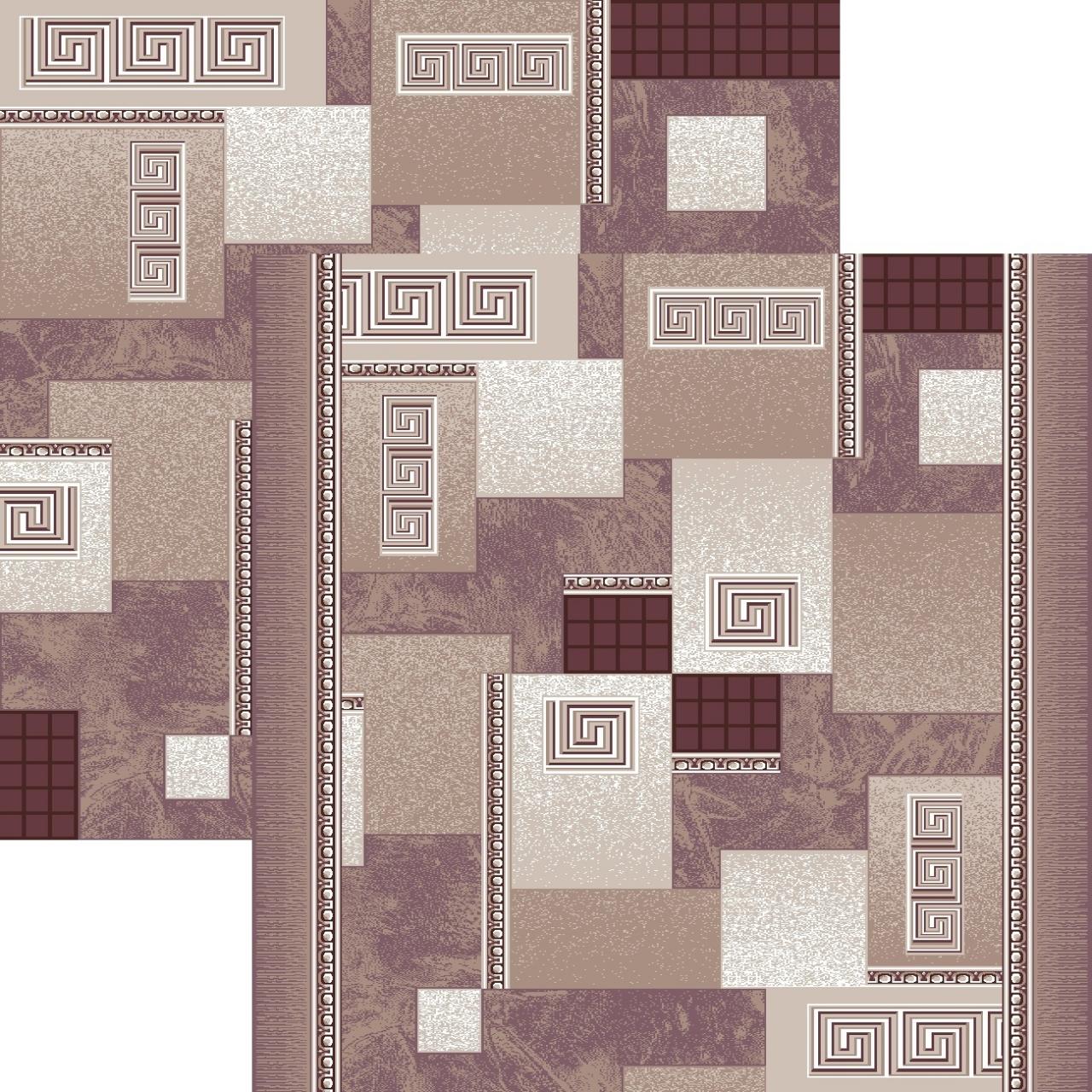Ковровая дорожка p1286e2r - 93 - коллекция принт 8-ми цветная дорожка