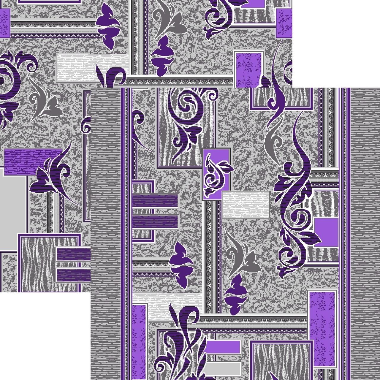 Ковровая дорожка p1530b2r - 50 - коллекция принт 8-ми цветная дорожка