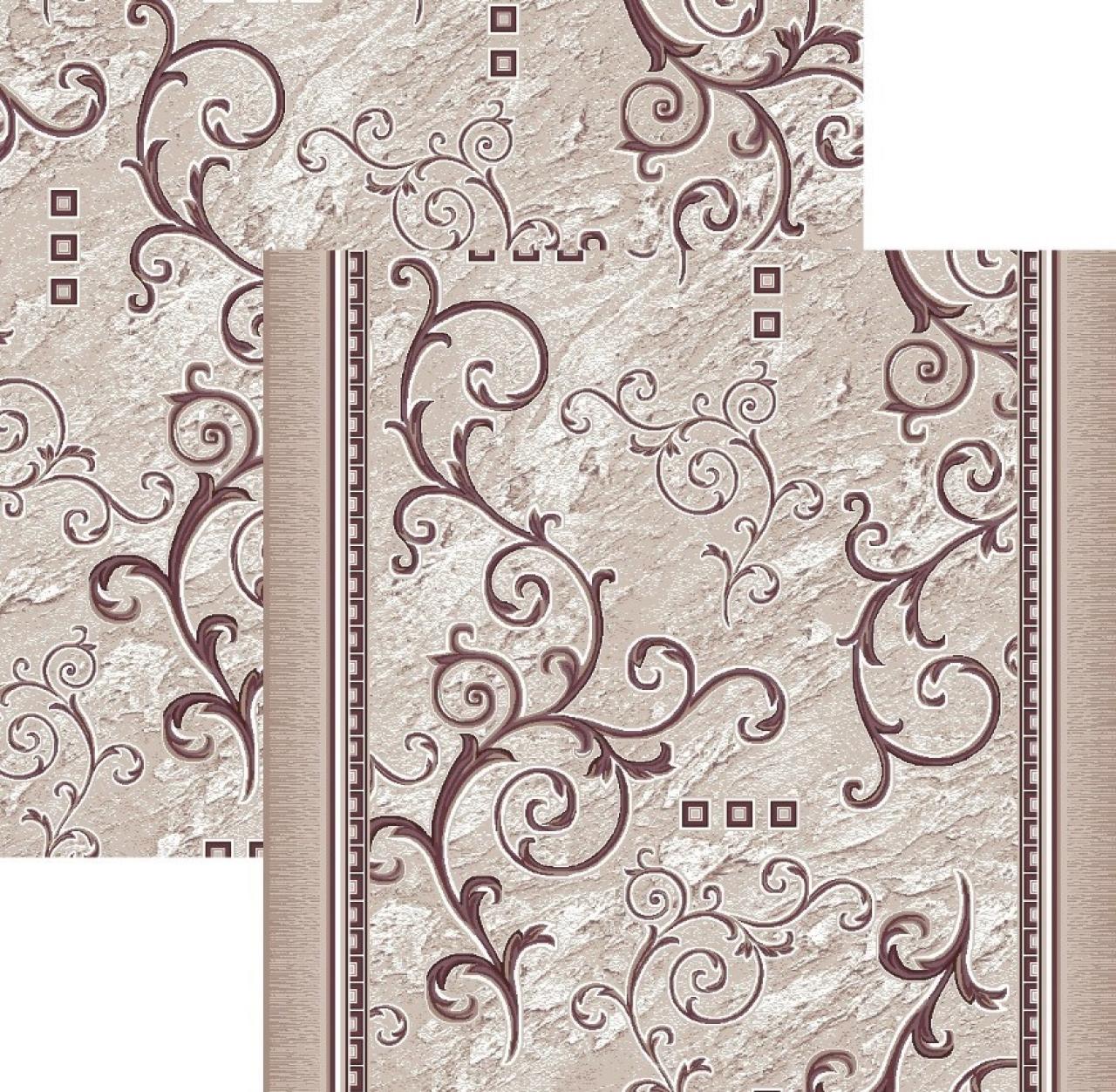 Ковровая дорожка p1612a5r - 93 - коллекция принт 8-ми цветная дорожка