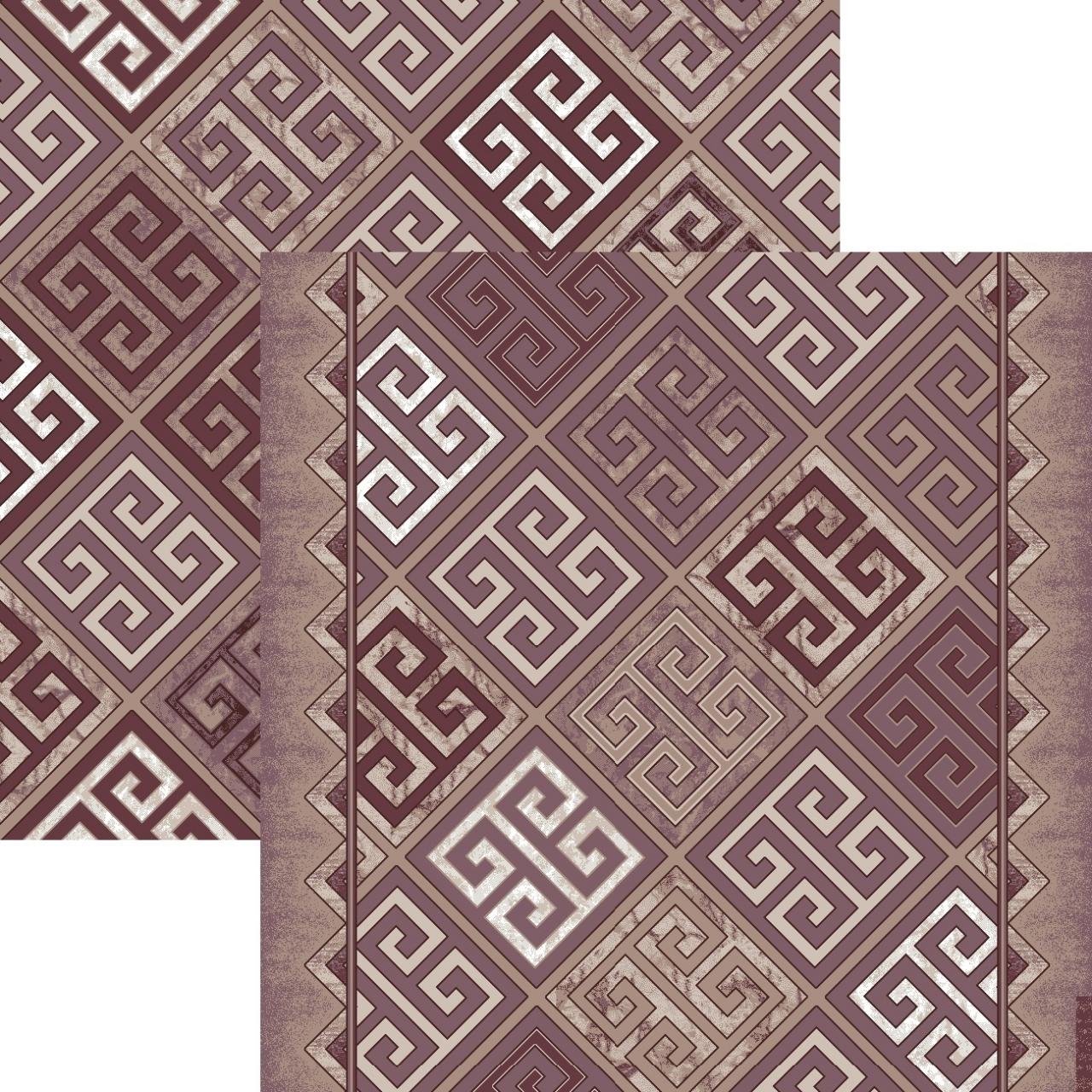 Ковровая дорожка p1698a6r - 93 - коллекция принт 8-ми цветная дорожка
