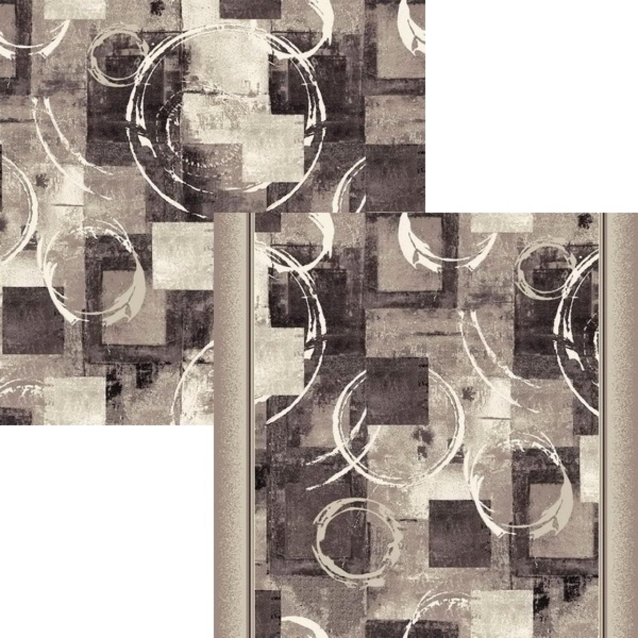 Ковровая дорожка p1812a5r - 100 - коллекция принт 8-ми цветная дорожка - фото 1