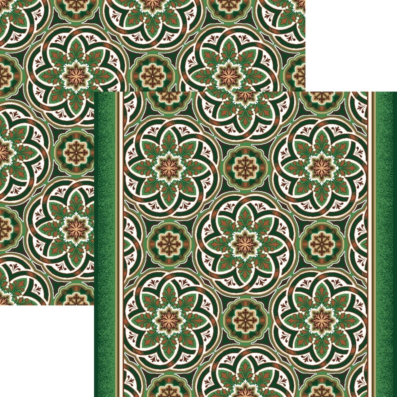 Ковровая дорожка p1507a4p - 36 - коллекция принт 8-ми цветное полотно - фото 1