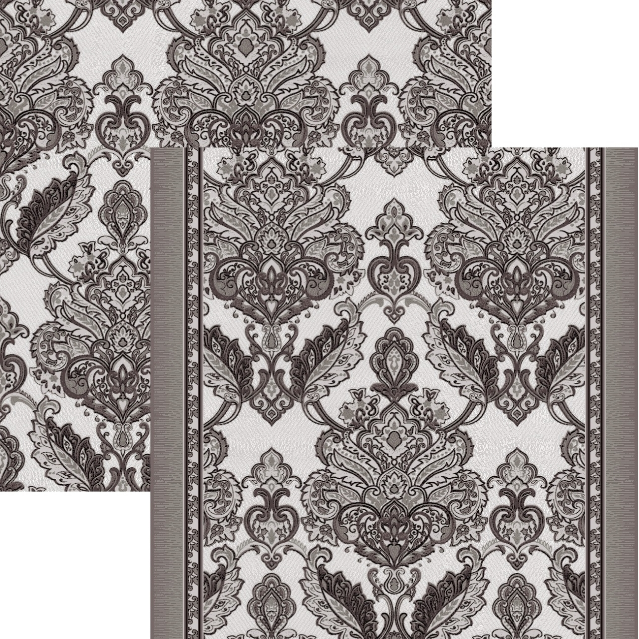 Ковровая дорожка p1595b2p - 100 - коллекция принт 8-ми цветное полотно