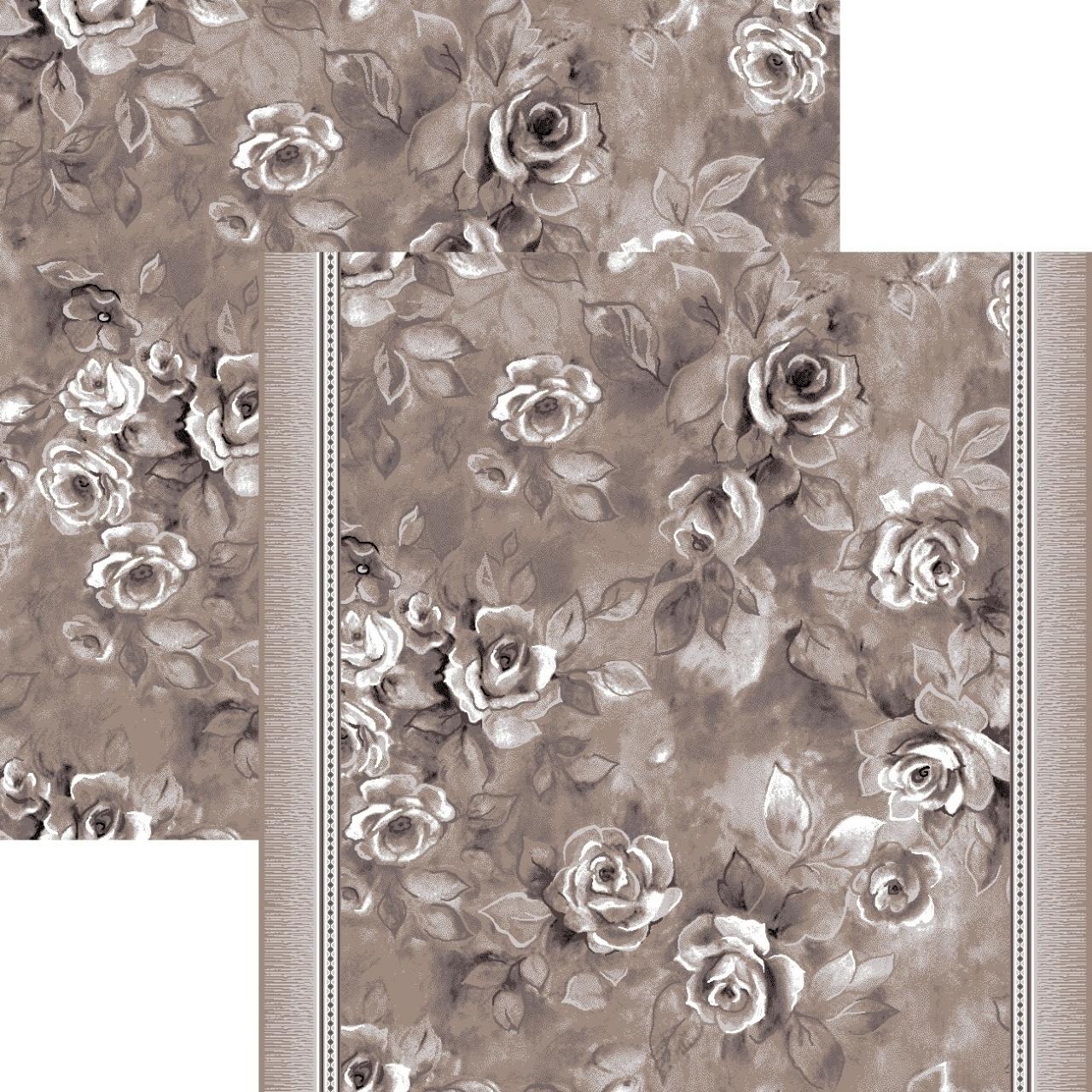Ковровая дорожка p1611a2p - 100 - коллекция принт 8-ми цветное полотно - фото 1