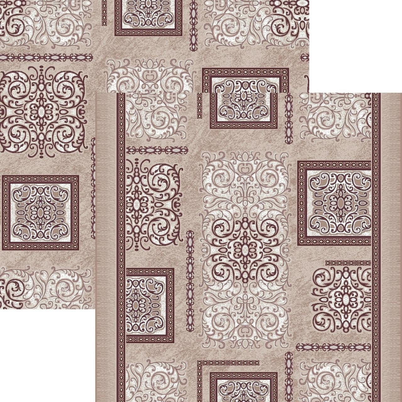Ковровая дорожка p1614c5p - 93 - коллекция принт 8-ми цветное полотно - фото 1