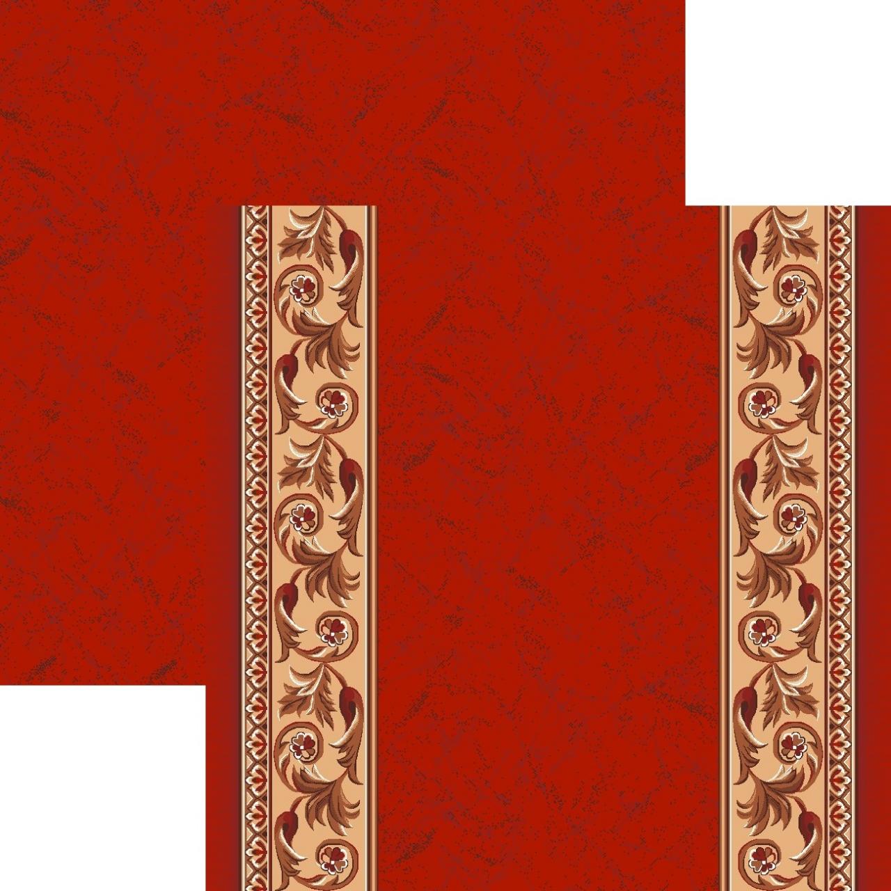 Ковровая дорожка p867k5p - 45 - коллекция принт 8-ми цветное полотно