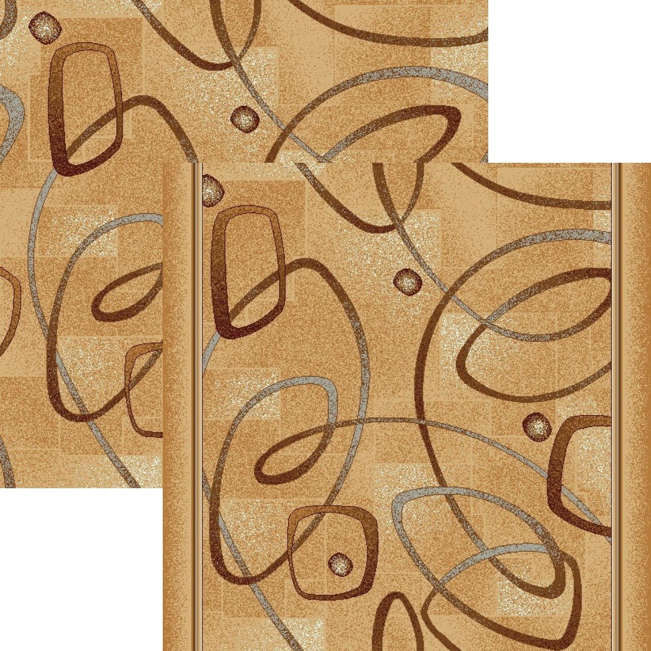 Ковровая дорожка p980c2p - 34 - коллекция принт 8-ми цветное полотно