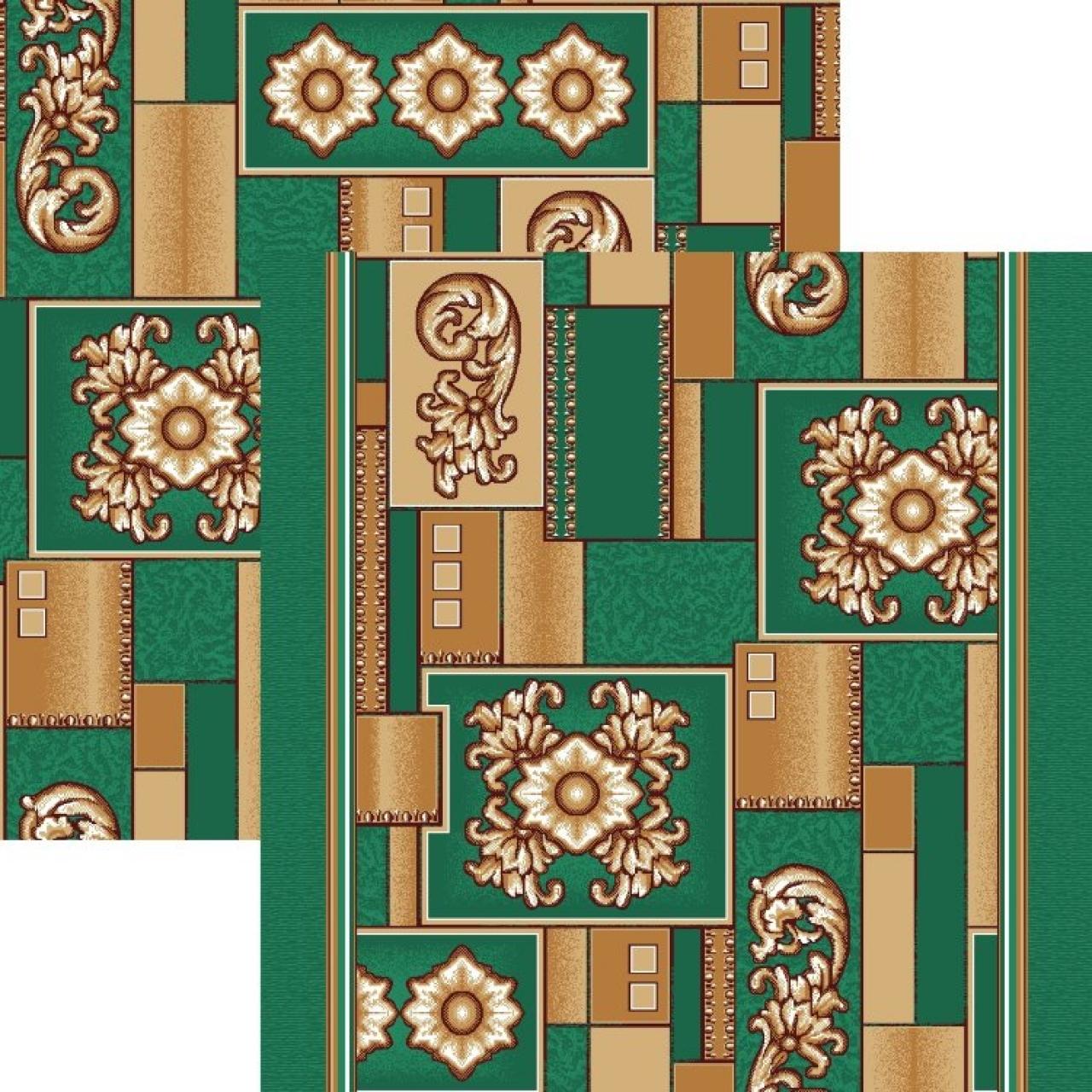 Ковер p1519a5p - 36 - Прямоугольник - коллекция принт обр 8-ми цветное полотно