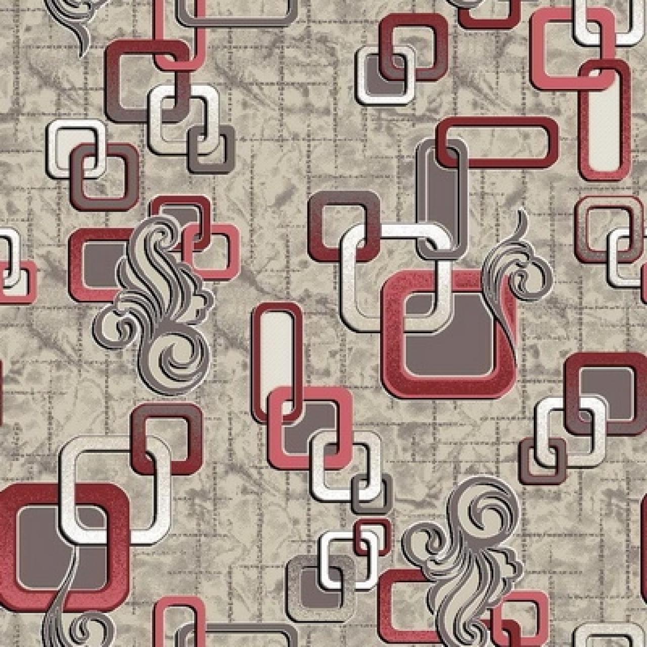 Ковер p1594c2p - 104 - Прямоугольник - коллекция принт обр 8-ми цветное полотно - фото 1