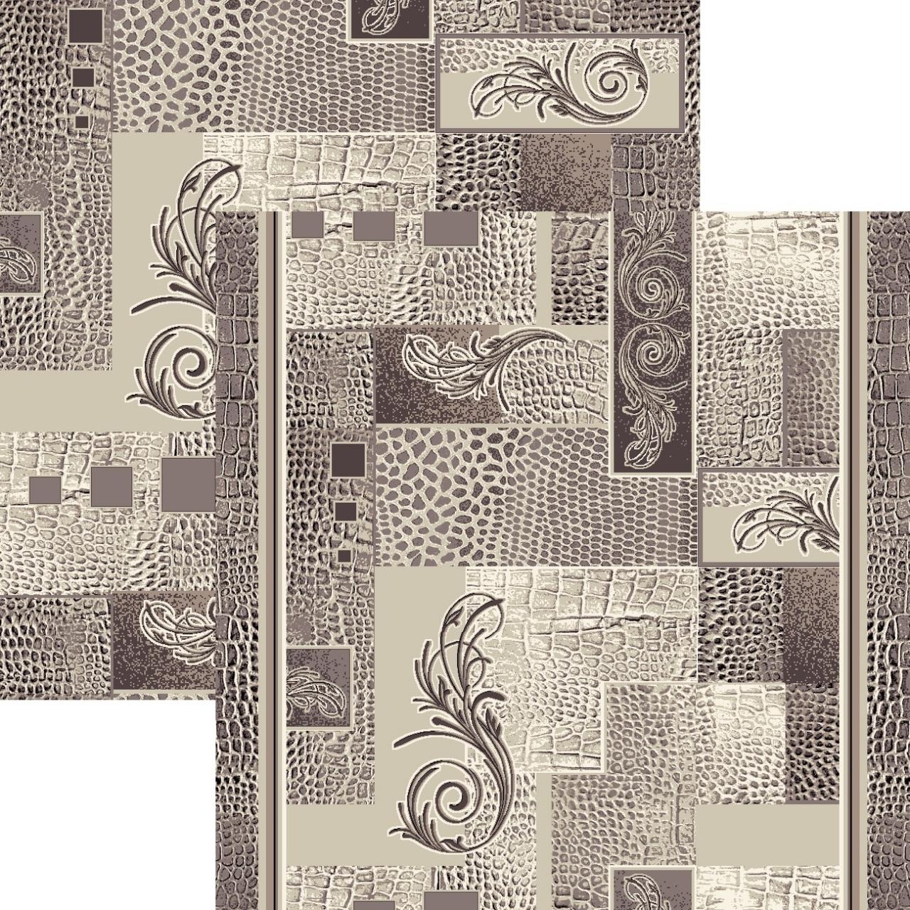 Ковер p1604a2p - 100 - Прямоугольник - коллекция принт обр 8-ми цветное полотно - фото 1