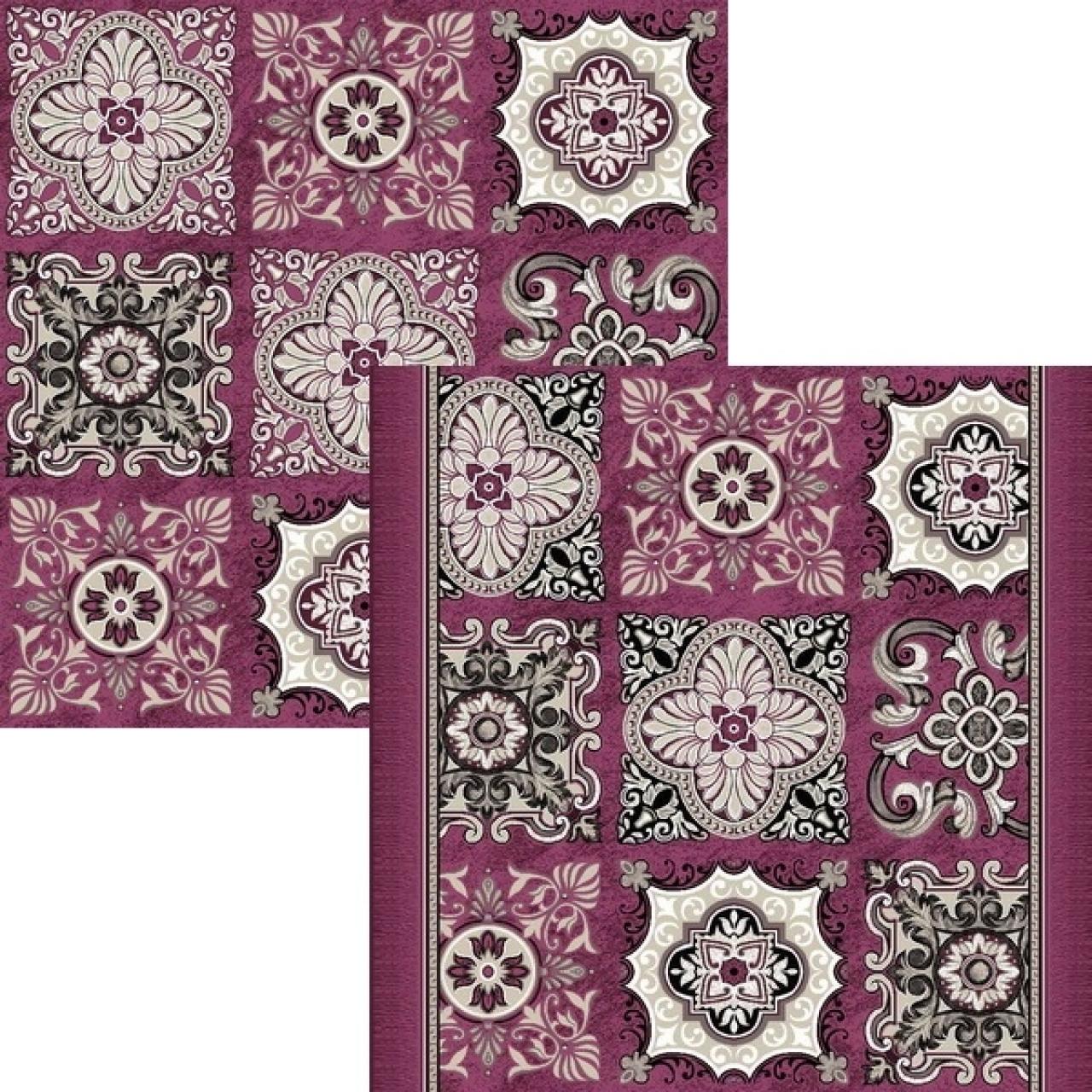 Ковер p1742a5p - 102 - Прямоугольник - коллекция принт обр 8-ми цветное полотно