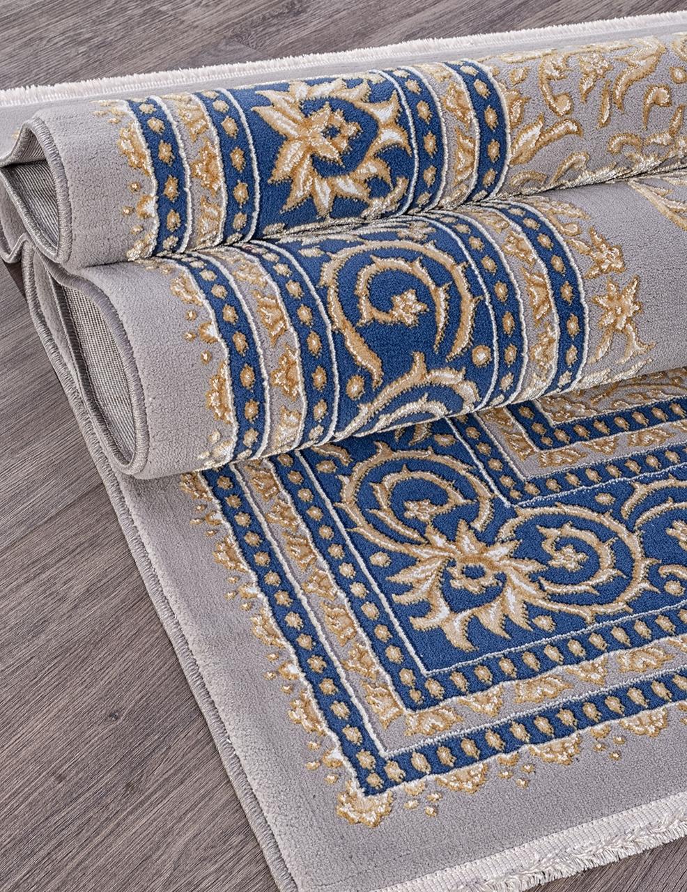 Ковер 33030 - 035 NAVY - Прямоугольник - коллекция QATAR - фото 3
