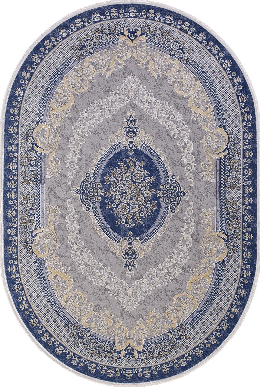Ковер 33342 - 035 NAVY - Овал - коллекция QATAR - фото 2