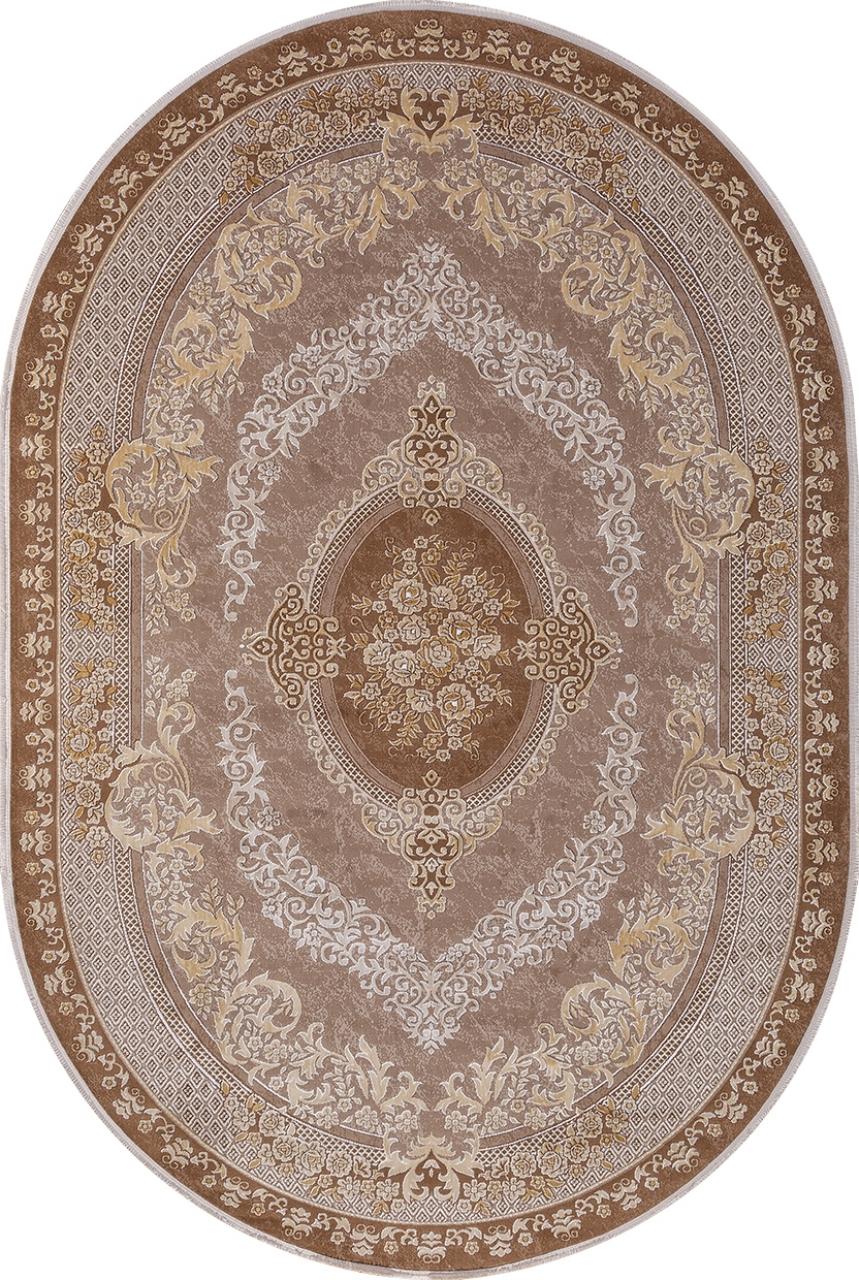 Ковер 33342 - 080 BROWN - Овал - коллекция QATAR - фото 2