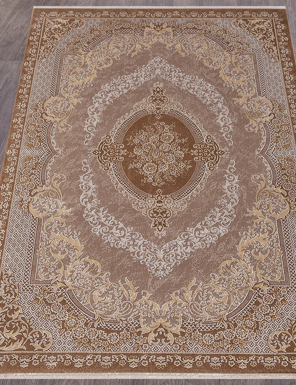 Ковер 33342 - 080 BROWN - Прямоугольник - коллекция QATAR