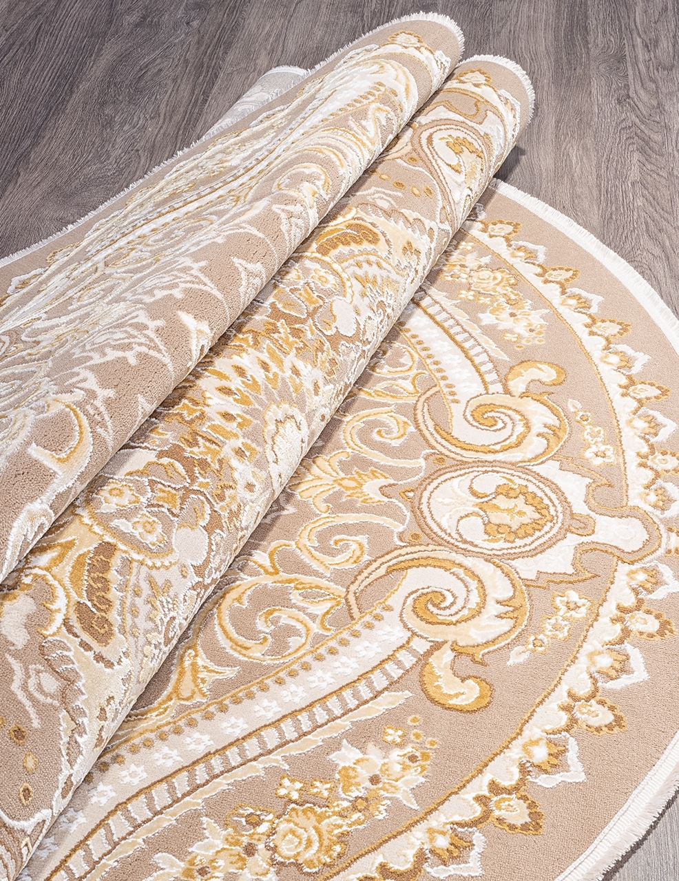 Ковер 33525 - 070 BEIGE - Овал - коллекция QATAR - фото 4
