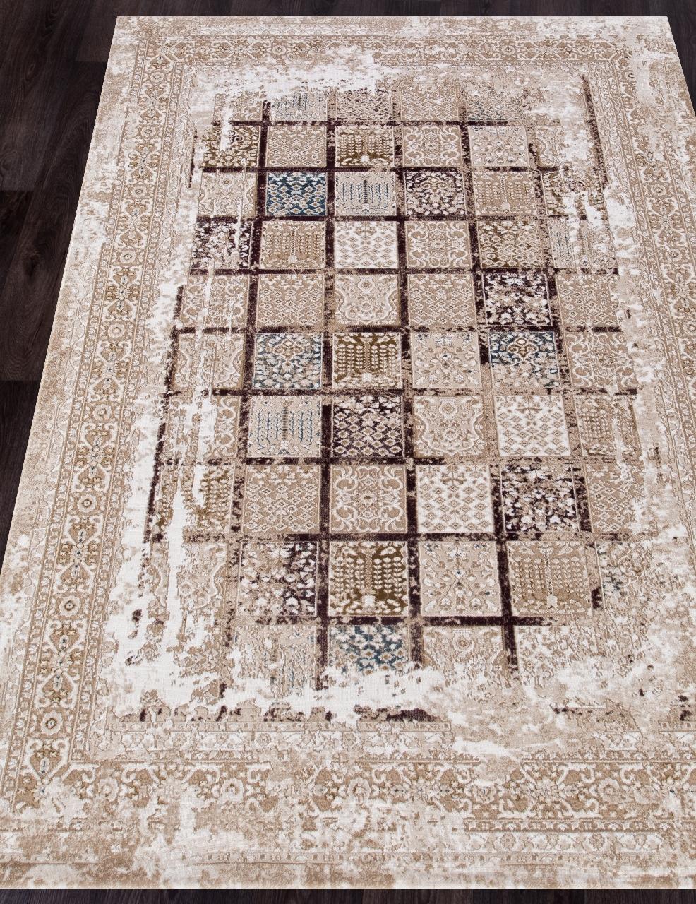 Ковер 03004B - BROWN / BROWN - Прямоугольник - коллекция QUANTUM