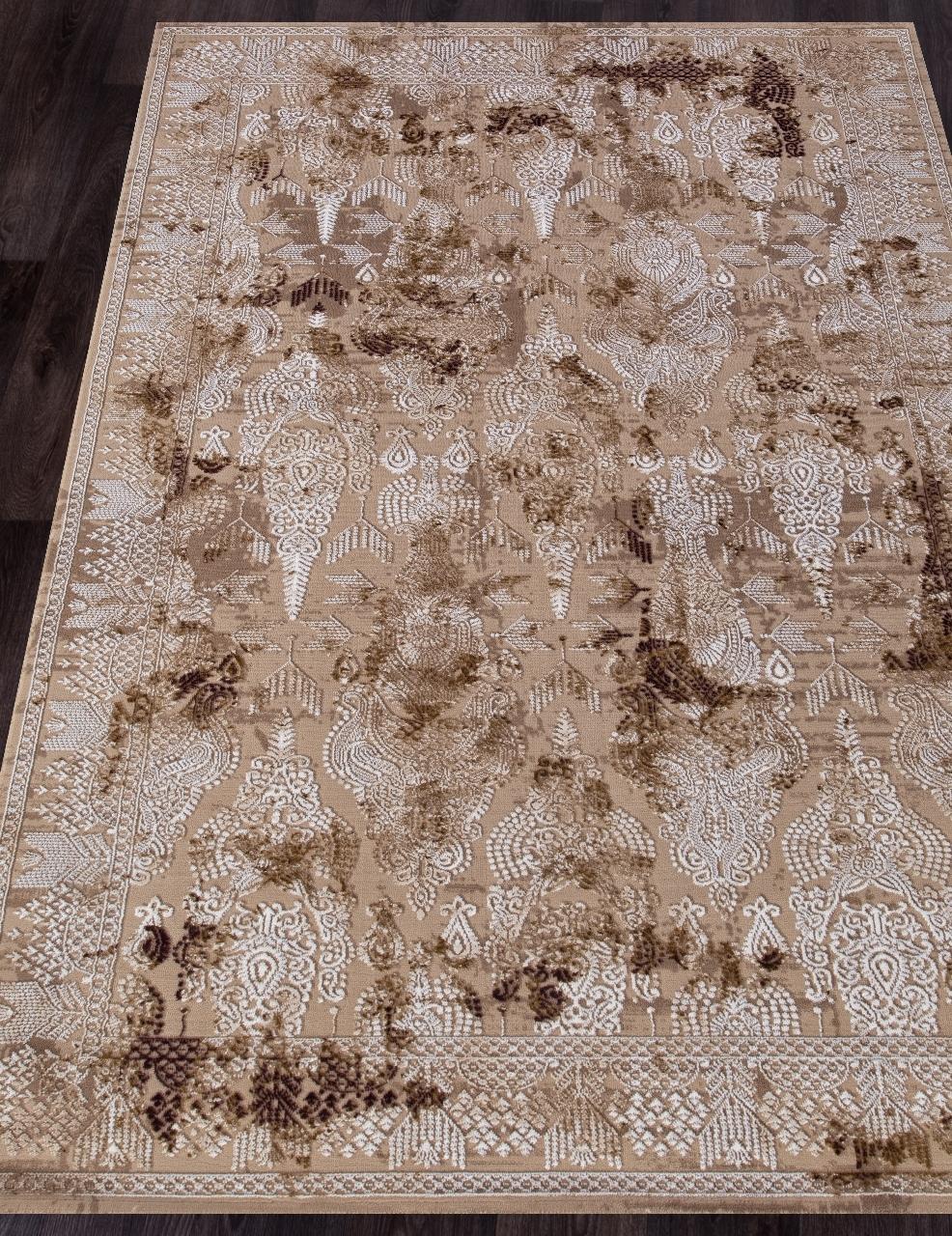 Ковер 03013B - BROWN / BROWN - Прямоугольник - коллекция QUANTUM