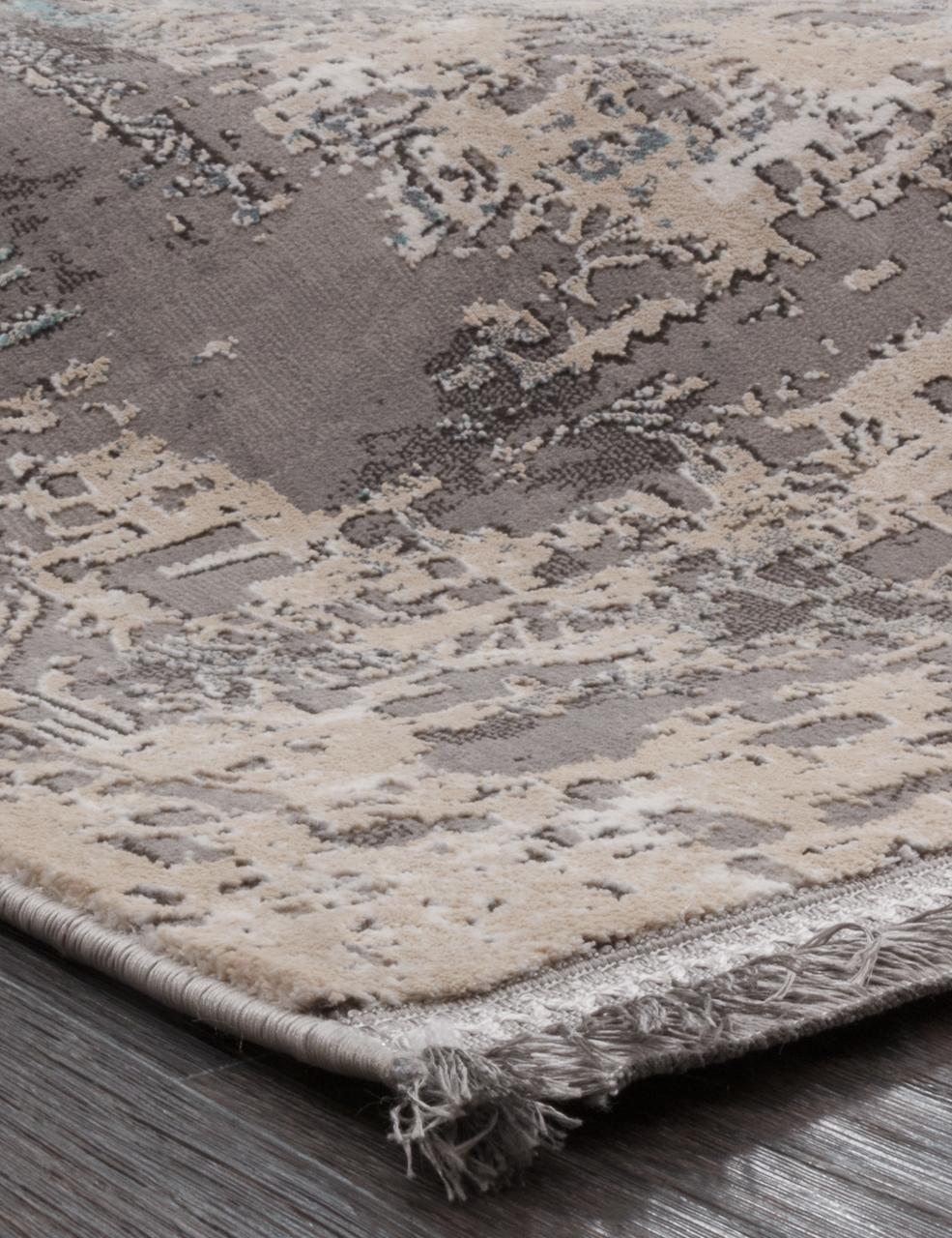 Ковер 31601 - 095 GREY - Прямоугольник - коллекция QUARES - фото 2