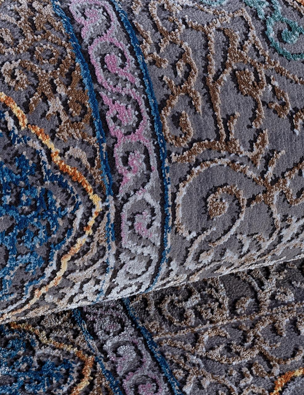 Ковер 31777 - 095 GREY - Прямоугольник - коллекция QUARES - фото 4