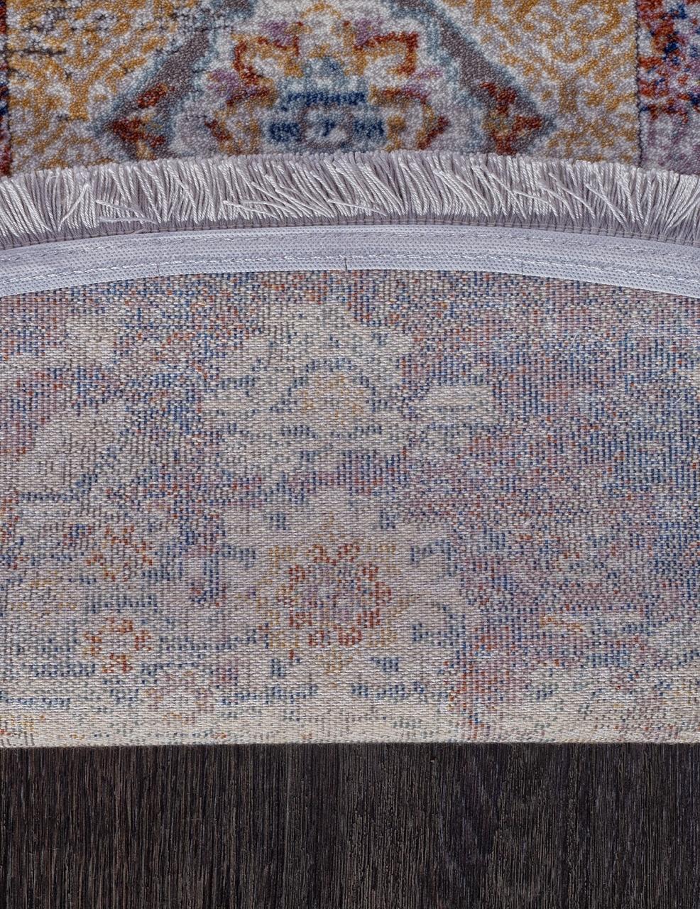 Ковер 05711G - GREY / GREY - Овал - коллекция RIM - фото 5