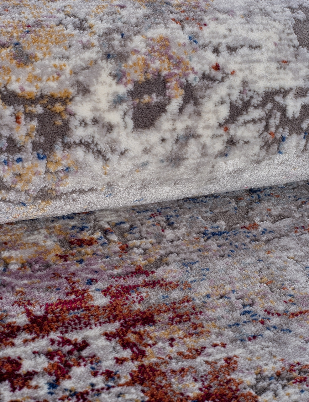 Ковер 05712G - GREY / GREY - Овал - коллекция RIM - фото 4