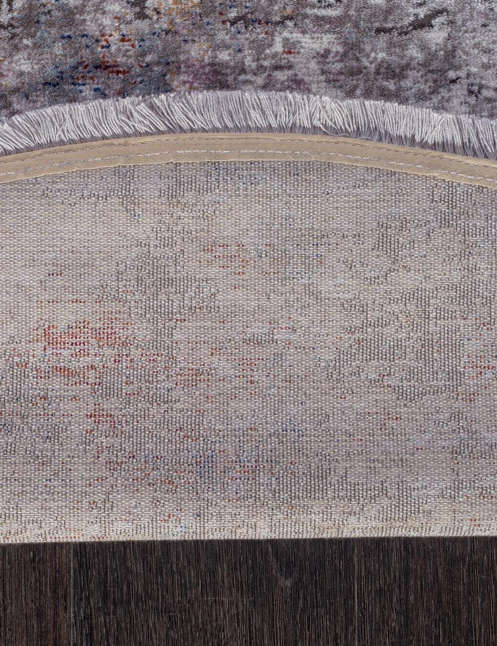Ковер 05712G - GREY / GREY - Овал - коллекция RIM - фото 5