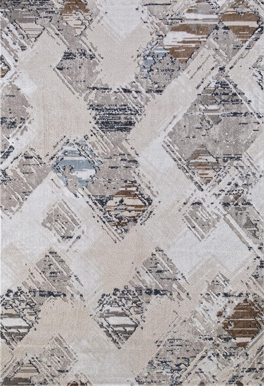 Ковер 7436D - L.BLUE / CREAM - Прямоугольник - коллекция RODOS - фото 2