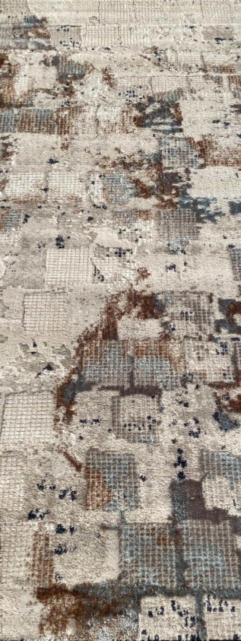 Ковровая дорожка 7652A - L.BLUE / WHITE - коллекция RODOS - фото 1