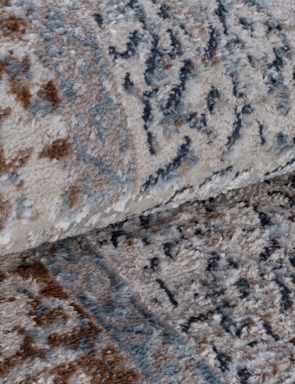 Ковровая дорожка 7680A - L.BLUE / CREAM - коллекция RODOS - фото 4