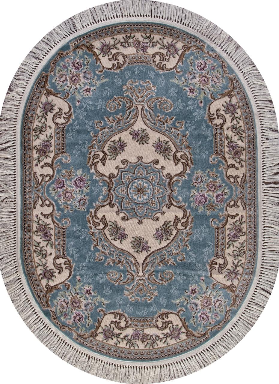 Ковер D704 - BLUE - Овал - коллекция ROXY - фото 2
