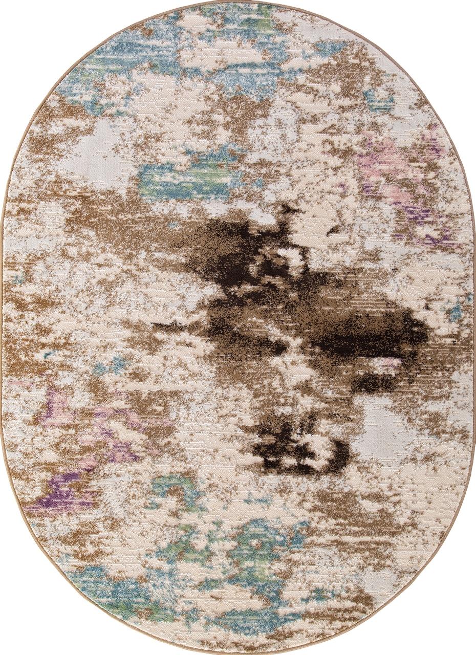 Ковер D734 - BEIGE - Овал - коллекция ROXY WF - фото 2