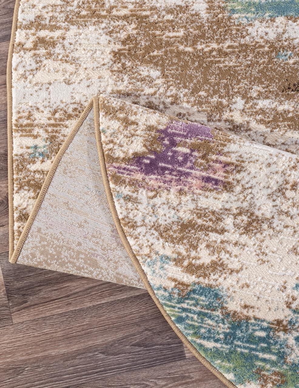 Ковер D734 - BEIGE - Овал - коллекция ROXY WF - фото 5