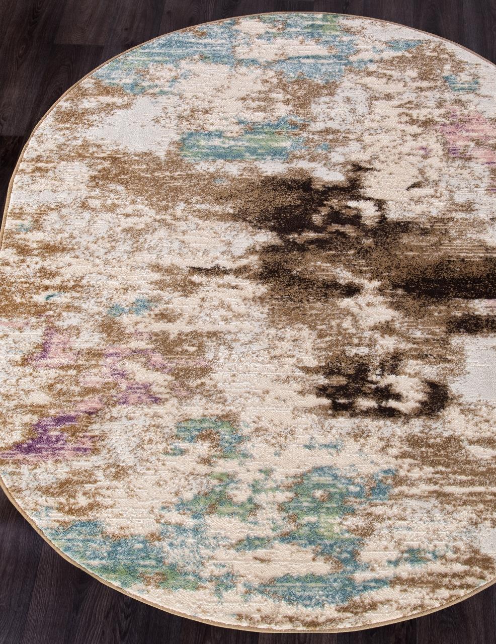 Ковер D734 - BEIGE - Овал - коллекция ROXY WF - фото 1