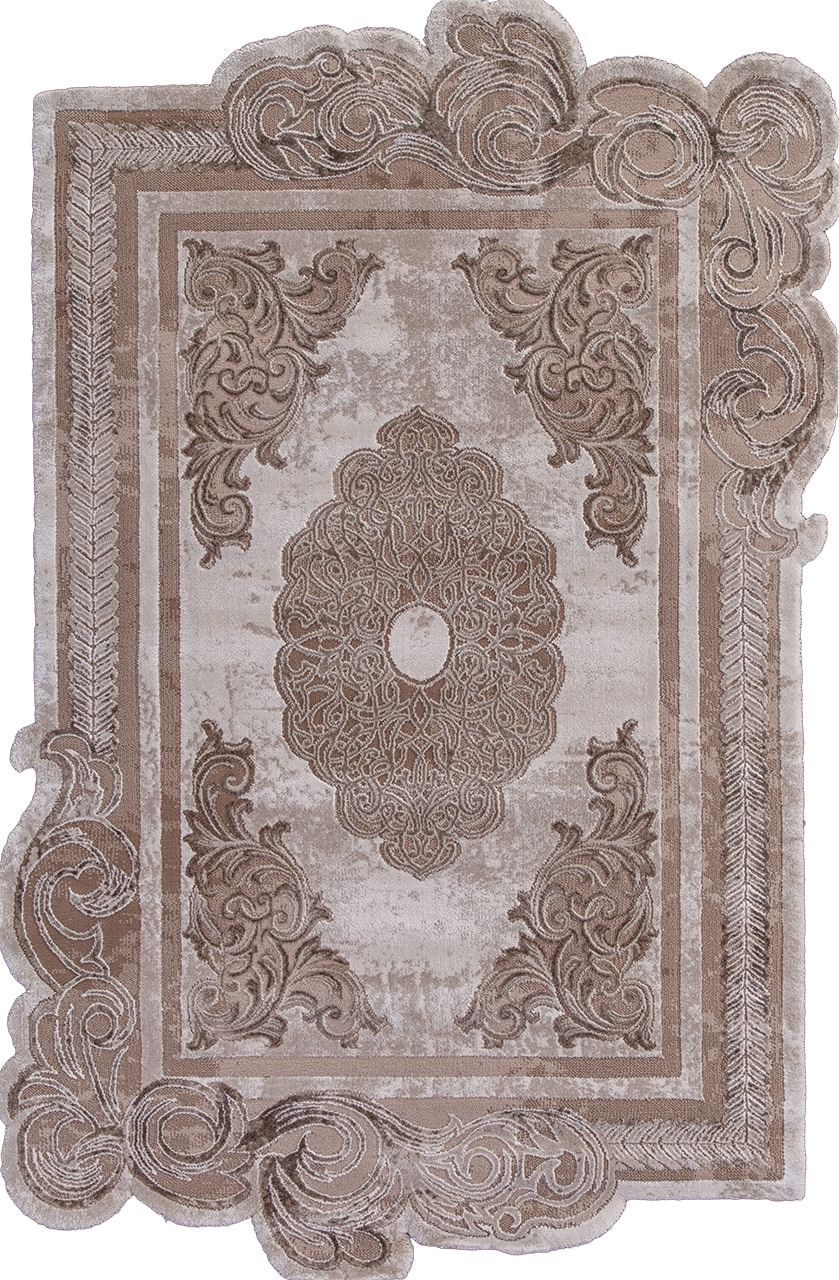 Ковер 00856A - BROWN / BROWN - Прямоугольник - коллекция SAFIR - фото 2