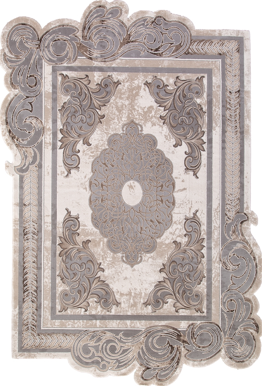 Ковер 00856C - GREY / BROWN - Прямоугольник - коллекция SAFIR - фото 2