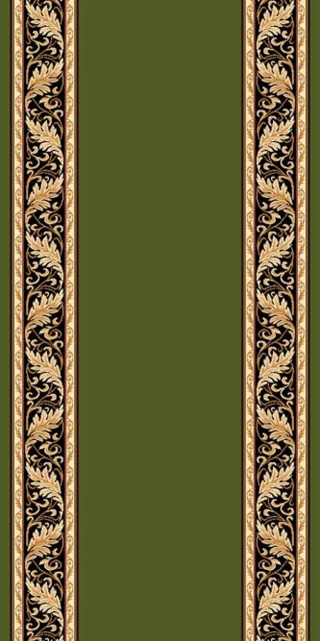 Ковровая дорожка d040 - GREEN - коллекция SAN REMO