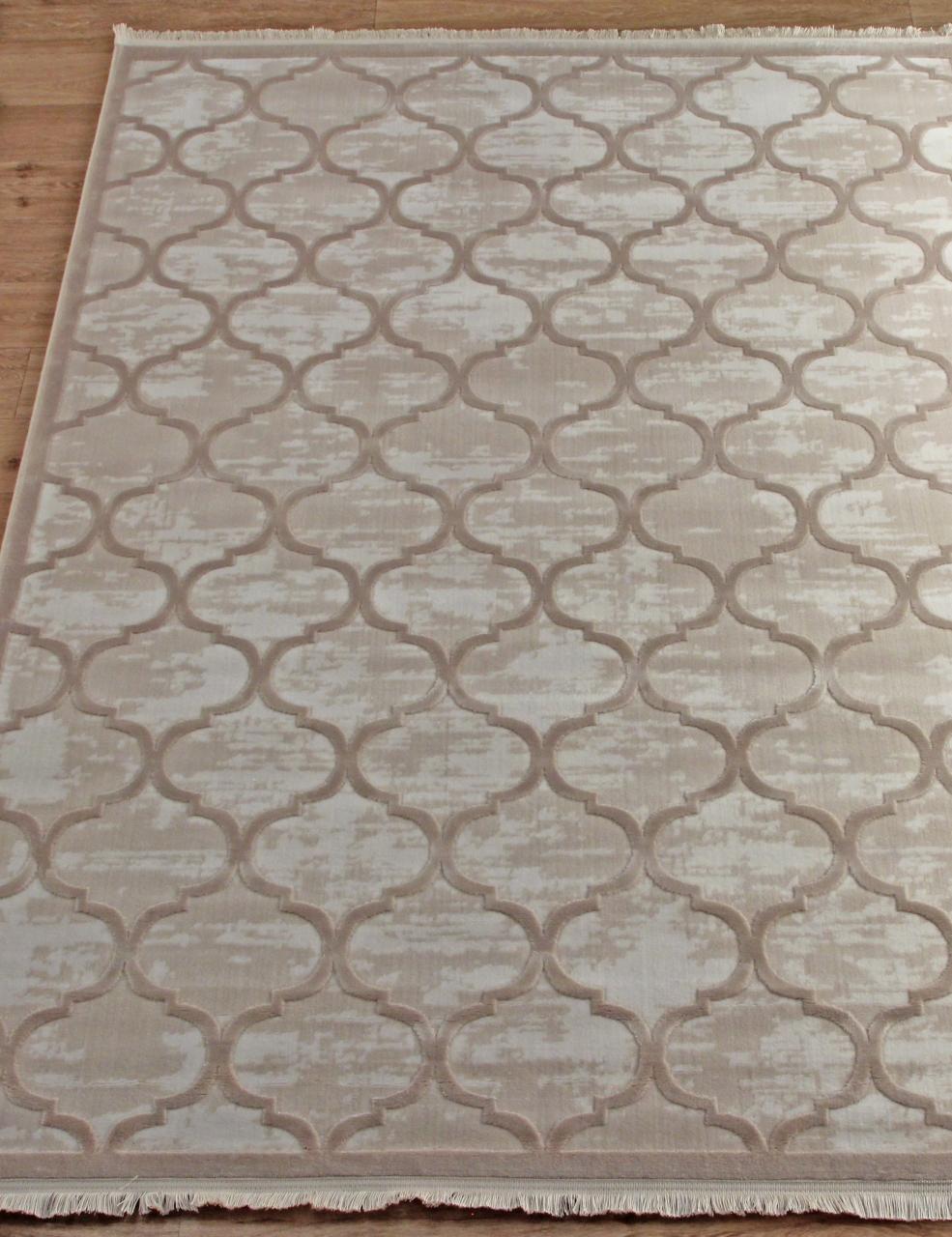 Ковер 08422A - BEIGE / BEIGE - Прямоугольник - коллекция SARDES TRUVA - фото 2
