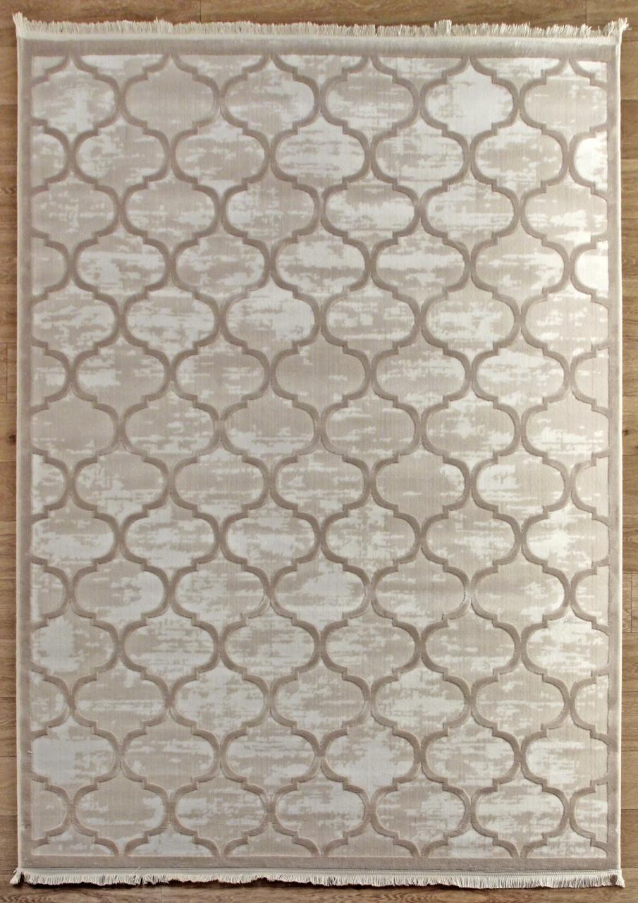 Ковер 08422A - BEIGE / BEIGE - Прямоугольник - коллекция SARDES TRUVA
