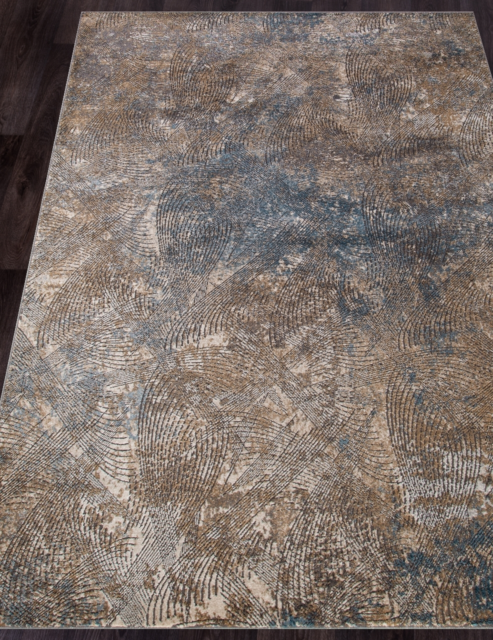 Ковер D769 - MUSTARD - Прямоугольник - коллекция SERENITY