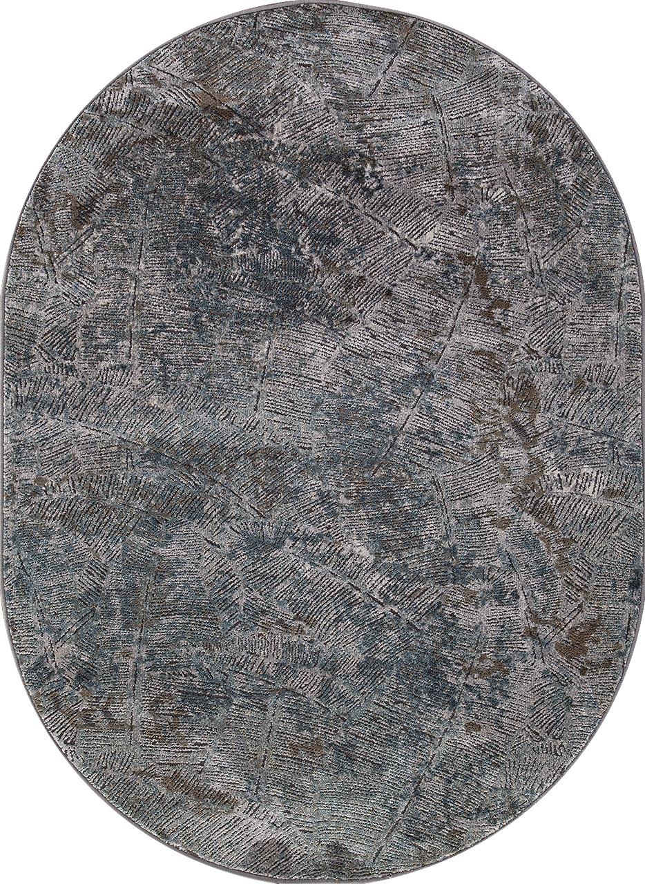 Ковер D771 - GRAY - Овал - коллекция SERENITY - фото 2