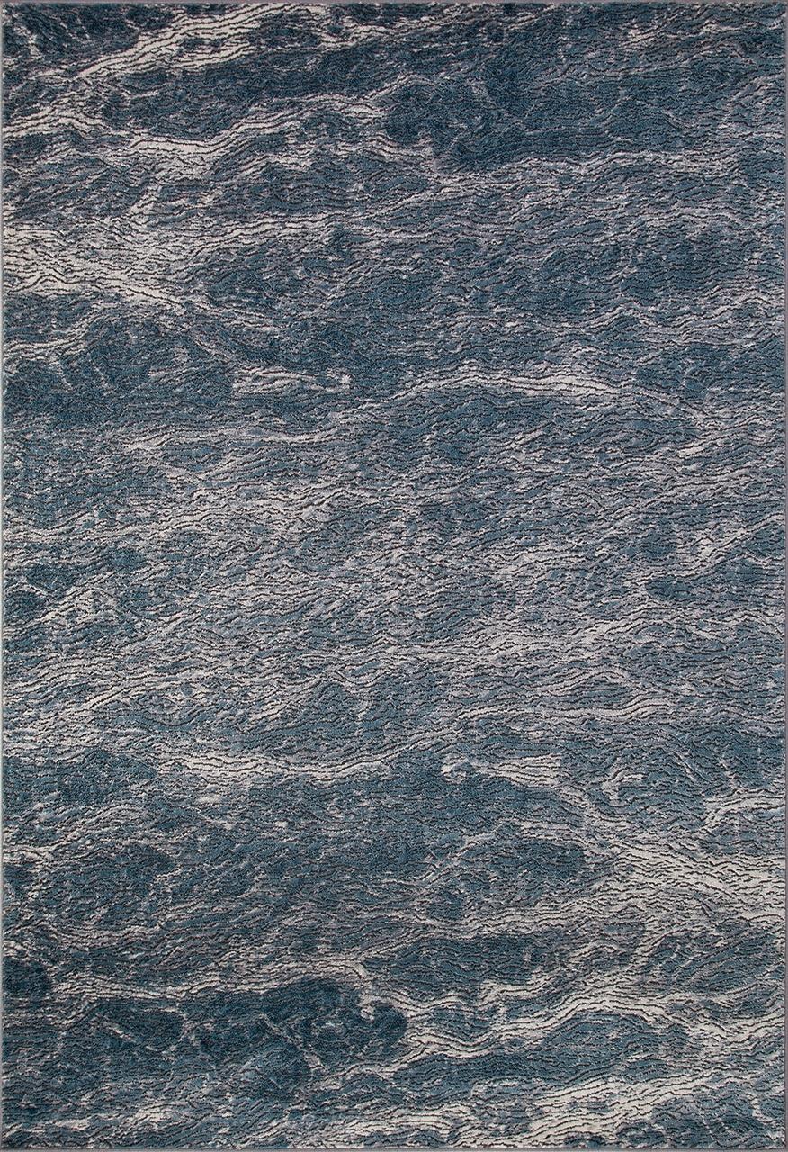 Ковер D777 - BLUE - Прямоугольник - коллекция SERENITY - фото 2