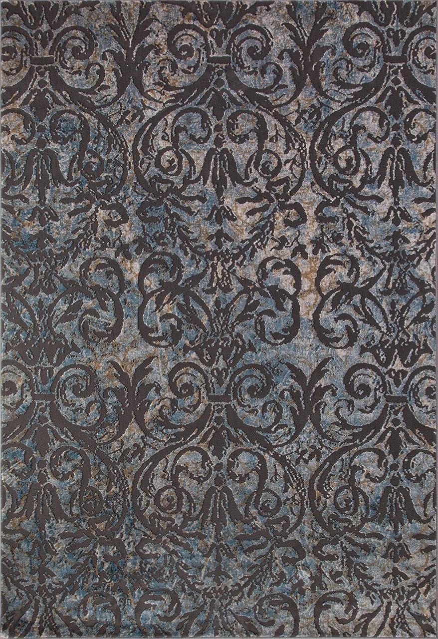 Ковер D778 - BLUE - Прямоугольник - коллекция SERENITY - фото 2