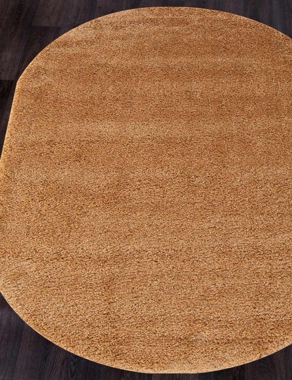 Ковер s600 - DARK BEIGE - Овал - коллекция SHAGGY ULTRA - фото 1