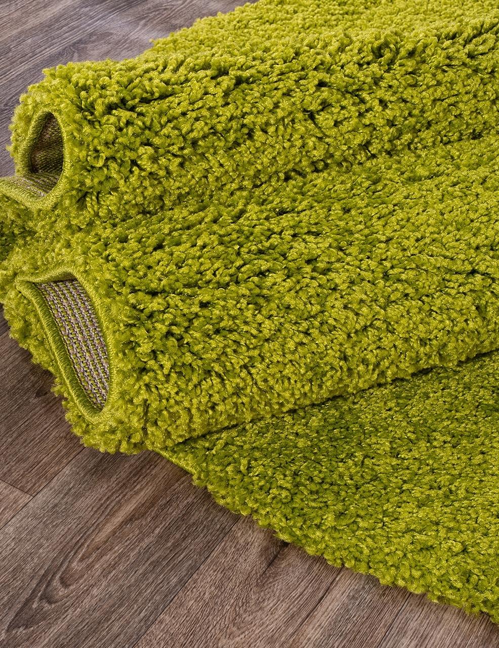 Ковер s600 - GREEN - Овал - коллекция SHAGGY ULTRA - фото 3