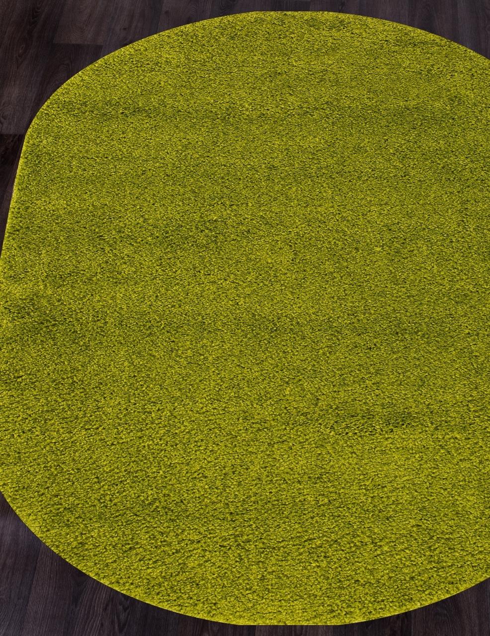 Ковер s600 - GREEN - Овал - коллекция SHAGGY ULTRA