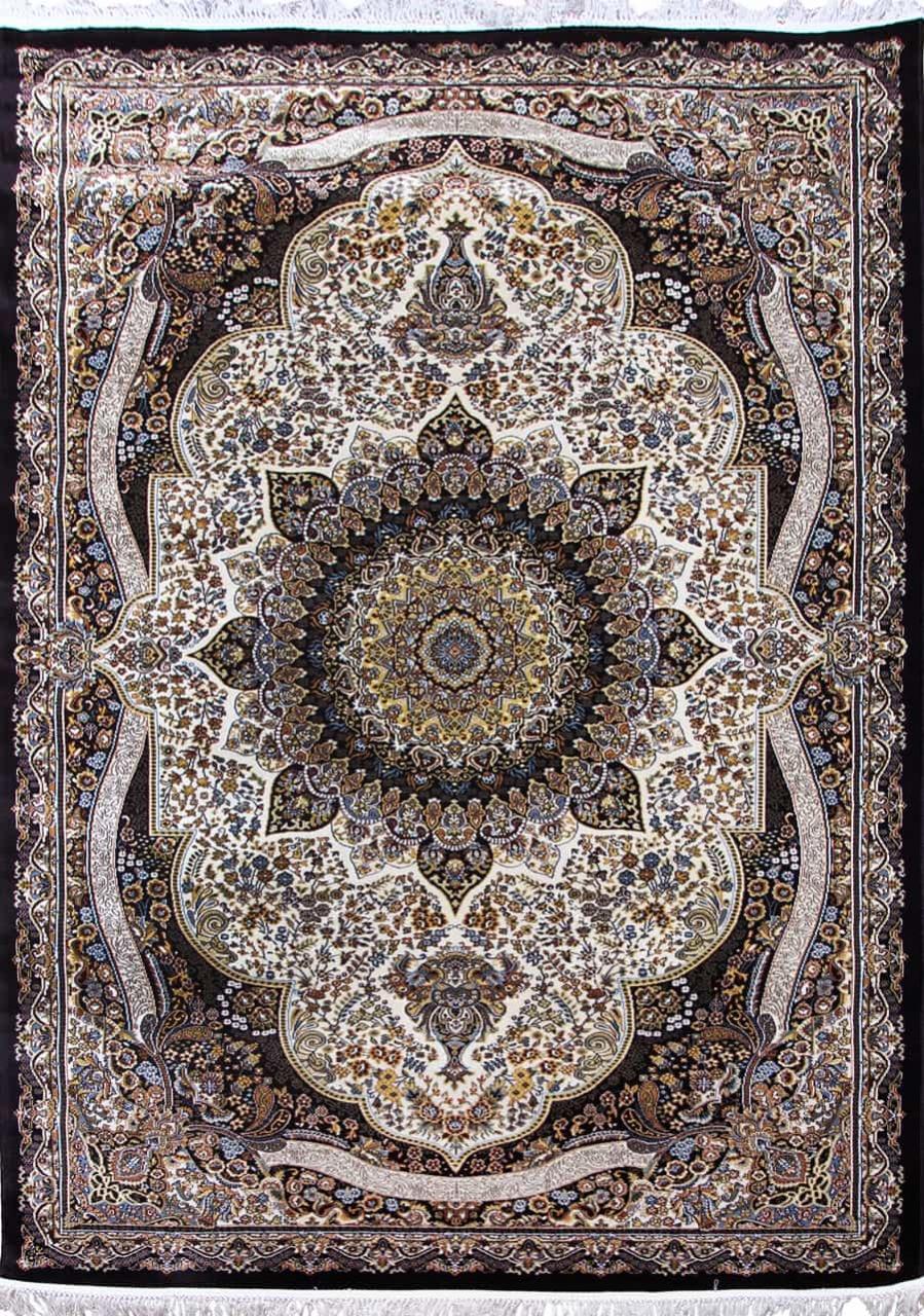 Ковер d415 - CREAM-NAVY - Прямоугольник - коллекция SHAHREZA - фото 2
