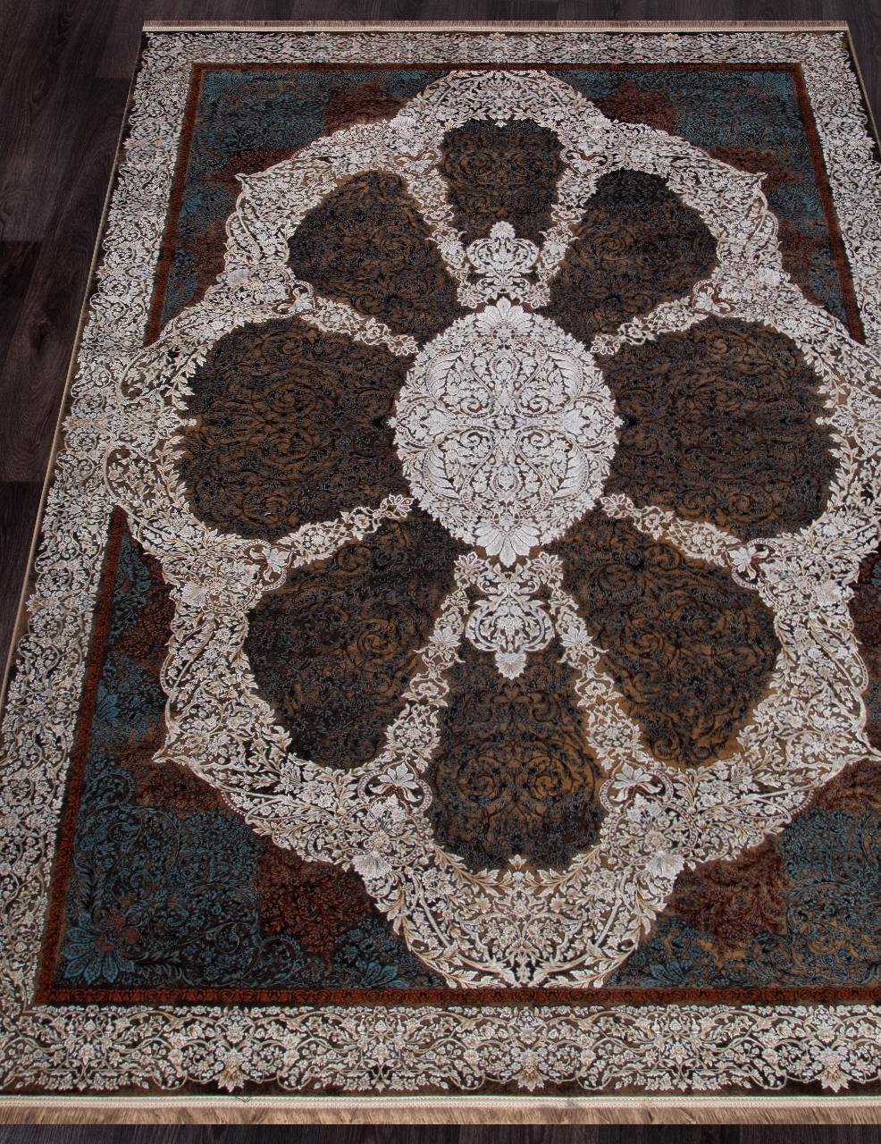 Ковер 9239 - BROWN - Прямоугольник - коллекция SHEIKH - фото 1