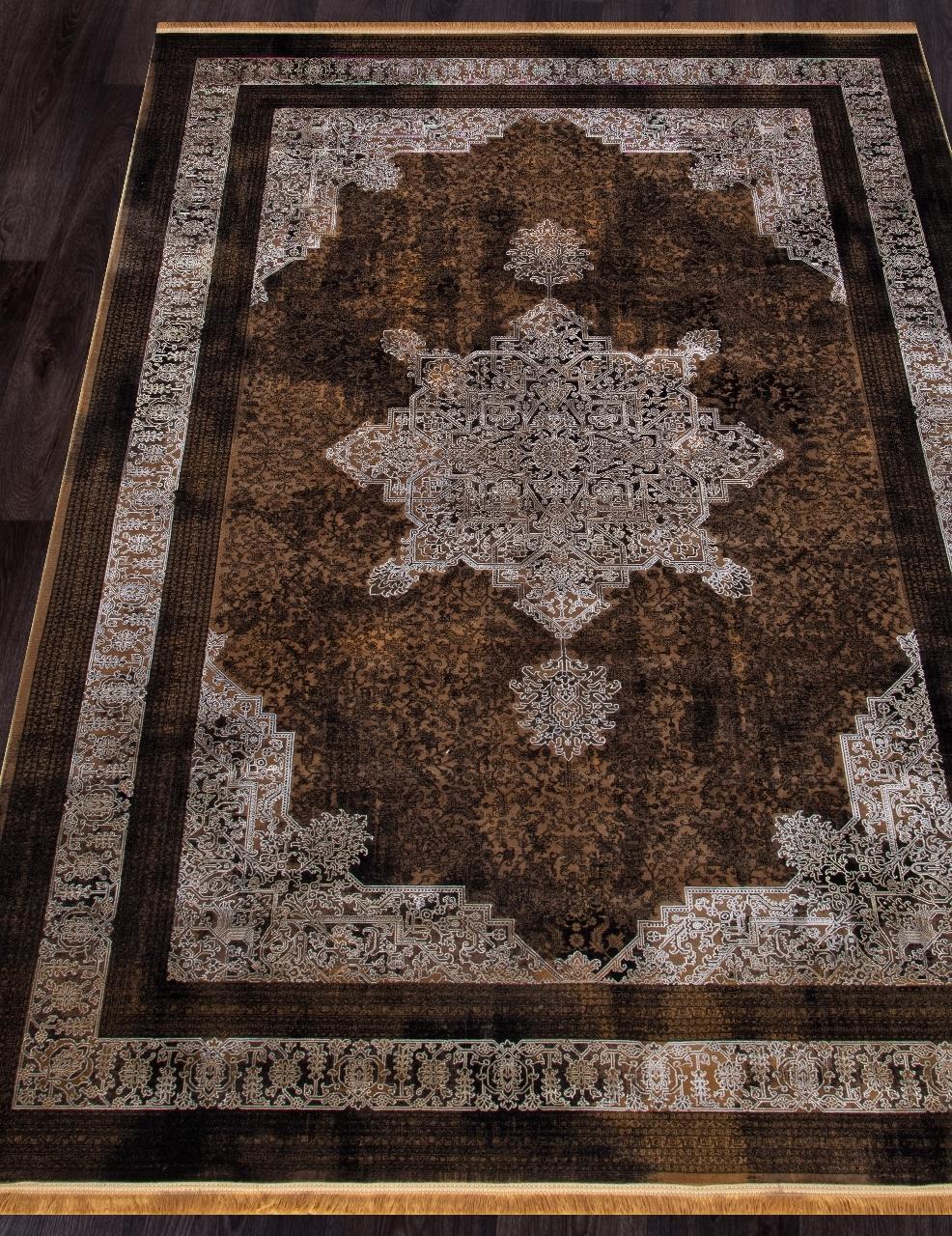 Ковер 9264 - BROWN - Прямоугольник - коллекция SHEIKH